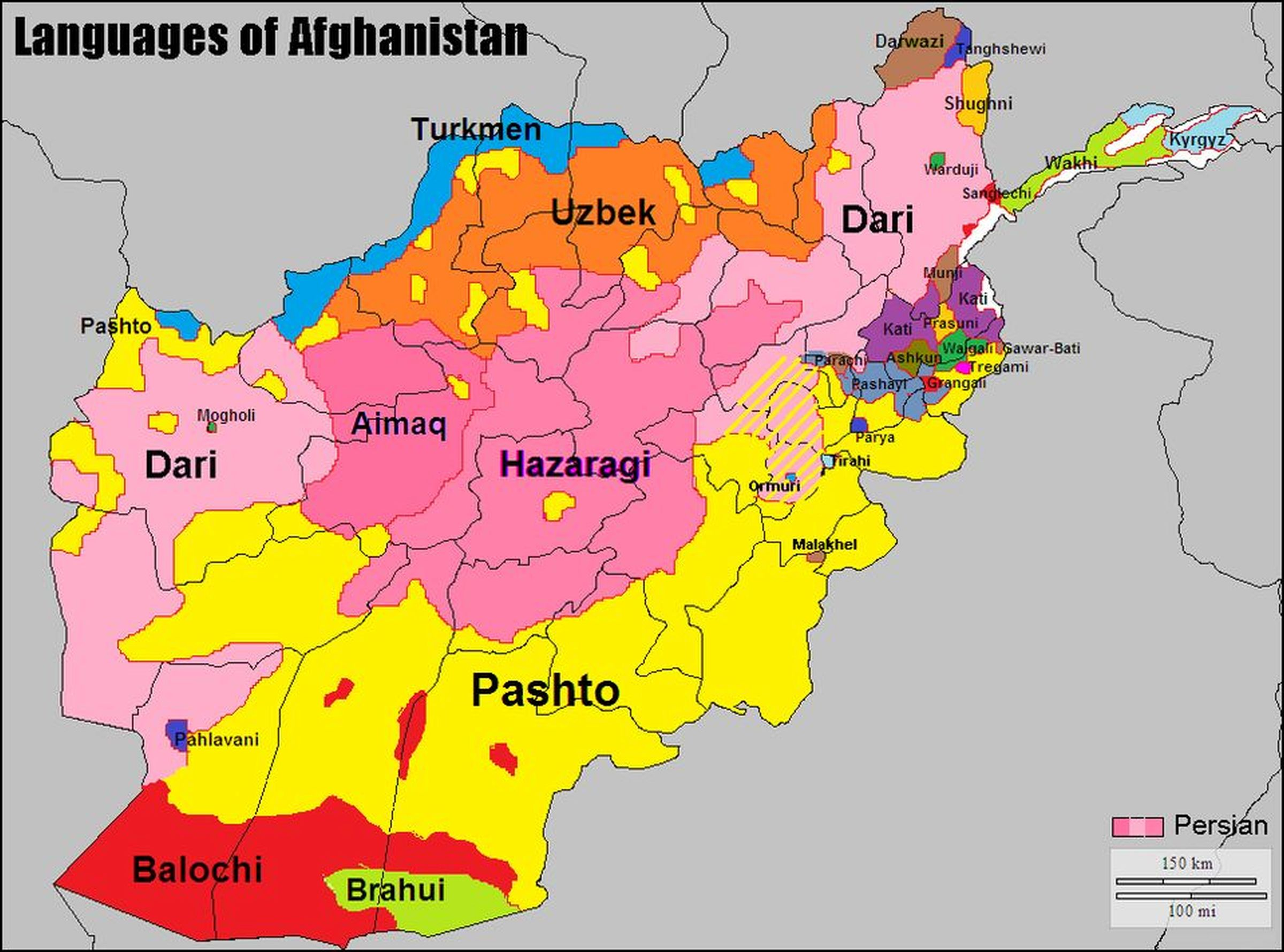 source of image: https://www.reddit.com/r/MapPorn/comments/9k5621/languages_of_afghanistan/